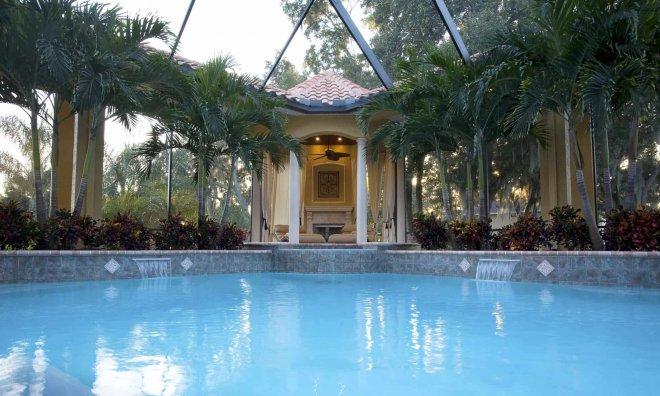 Cabana n Pool Potthast Villa Tuscano